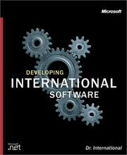 Cover of: Developing International Software by Dr. International