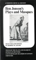 Cover of: Plays and Masques | Ben Jonson