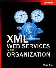 Cover of: XML Web Services in the Organization by Chris Boar
