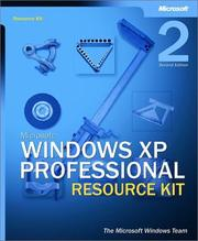 Cover of: Microsoft Windows XP Professional Resource Kit by The Microsoft Windows Team