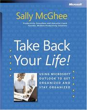 Cover of: Take Back Your Life! by Sally McGhee