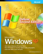 Cover of: Microsoft  Windows  XP Step by Step Deluxe by Online Training Solutions Inc.