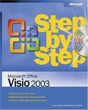 Cover of: Microsoft  Office Visio  2003 Step by Step (Step by Step (Microsoft)) by Resources Online