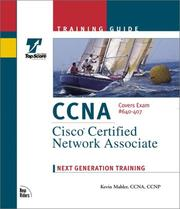 Cover of: CCNA Training Guide Exam 640-407 (The Training Guide Series) by Kevin S. Mahler