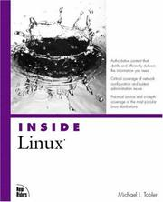 Cover of: Inside Linux by Michael Tobler
