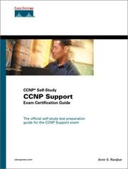 Cover of: Cisco CCNP Support Exam Certification Guide | Amir S. Ranjbar