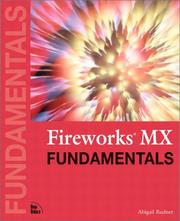 Cover of: Fireworks MX Fundamentals by Abigail Rudner