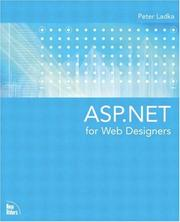 Cover of: ASP.NET for Web Designers | Peter Ladka