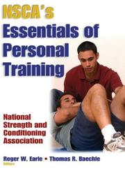 Cover of: Nsca's Essentials of Personal Training by National Strength & Conditioning Association (U. S.)