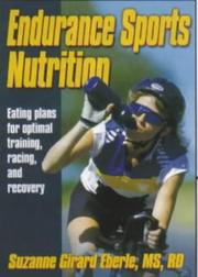 Cover of: Endurance Sports Nutrition by Suzanne Girard Eberle