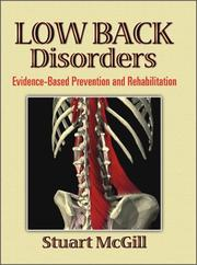 Cover of: Low Back Disorders | Stuart, Ph.D. McGill