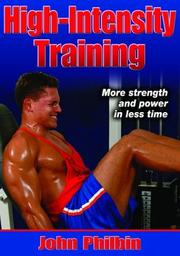 Cover of: High-Intensity Training by John Philbin