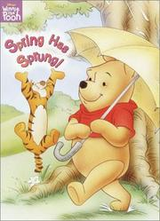 Cover of: Spring Has Sprung | RH Disney