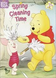 Cover of: Spring Cleaning Time by RH Disney