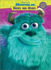 Cover of: Monsters, Inc. Masks and More (Monsters, Inc.) | RH Disney