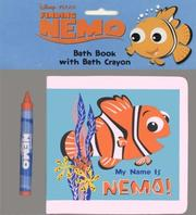 Cover of: My Name is Nemo! Finding Nemo Bath Book with Crayon | RH Disney