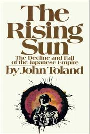 Cover of: The Rising Sun Part 1 of 3 by John Willard Toland