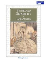 Cover of: Sense and Sensibility by Donada Peters