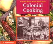 Cover of: Colonial Cooking | Susan Dosier