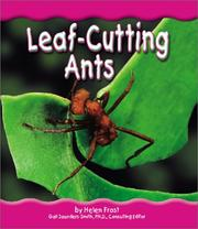 Cover of: Leaf-cutting ants | Helen Frost