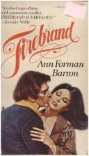 Cover of: Firebrand by Ann Forman Barron