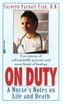 Cover of: On duty | Carolyn Fink