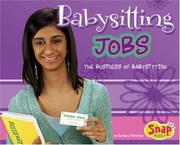 Cover of: Babysitting Jobs by Barbara Mehlman