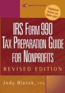 Cover of: IRS form 990 | Jody Blazek