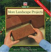 Cover of: More landscape projects | Jill Jesiolowski Cebenko