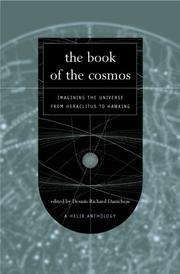 Cover of: The Book of the Cosmos by Dennis Danielson