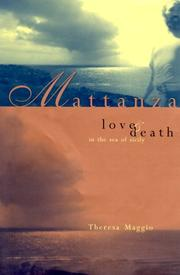 Cover of: Mattanza | Theresa Maggio