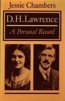 Cover of: D.H. Lawrence : a personal record | T. E.