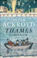 Cover of: The Thames | Peter Ackroyd