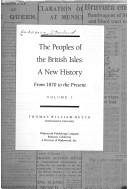 Cover of: The Peoples of the British Isles by Thomas William Heyck
