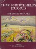 Cover of: Charles Burchfield's journals | Charles Ephraim Burchfield