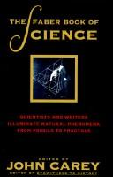 Cover of: The Faber Book of Science by John Carey