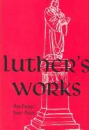 Cover of: Works by Martin Luther