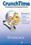 Cover of: Evidence Crunchtime by Steven L. Emanuel