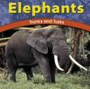 Cover of: Elephants | Adele D. Richardson