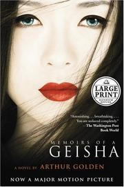 Cover of: Memoirs of a Geisha by Arthur Golden
