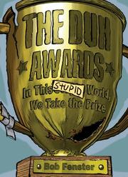 Cover of: The Duh Awards by Bob Fenster