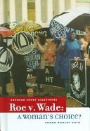 Cover of: Roe V. Wade | Susan Dudley Gold