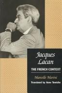 Cover of: Jacques Lacan | Marcelle Marini