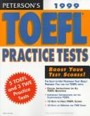 Cover of: Peterson's Toefl Practice Tests | Petersons