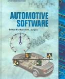 Cover of: Automotive Software | Ronald K. Jurgen