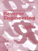 Cover of: Reverse Engineering (Wcre 2001), 8th Working Conference on | Working Conference on Reverse Engineering