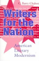 Cover of: Writers for the nation | C. Barry Chabot