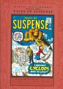 Cover of: Marvel Masterworks Atlas Era Tales Suspense 1 | Jack Kirby