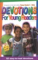 Cover of: Devotions for Young Readers by Janet M. Bair