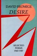 Cover of: Desire by David Bromige